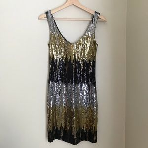 Sequin Sleeveless Dress